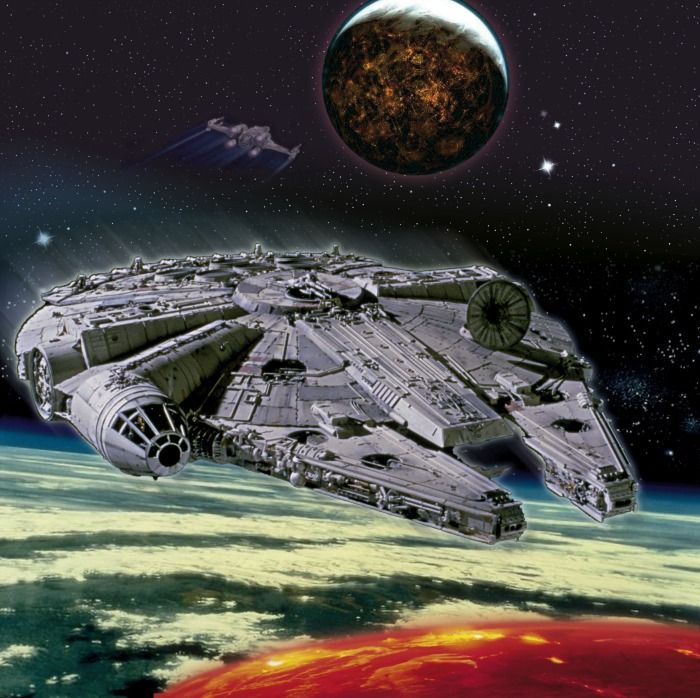 Millennium Falcon...my dream car lmbo