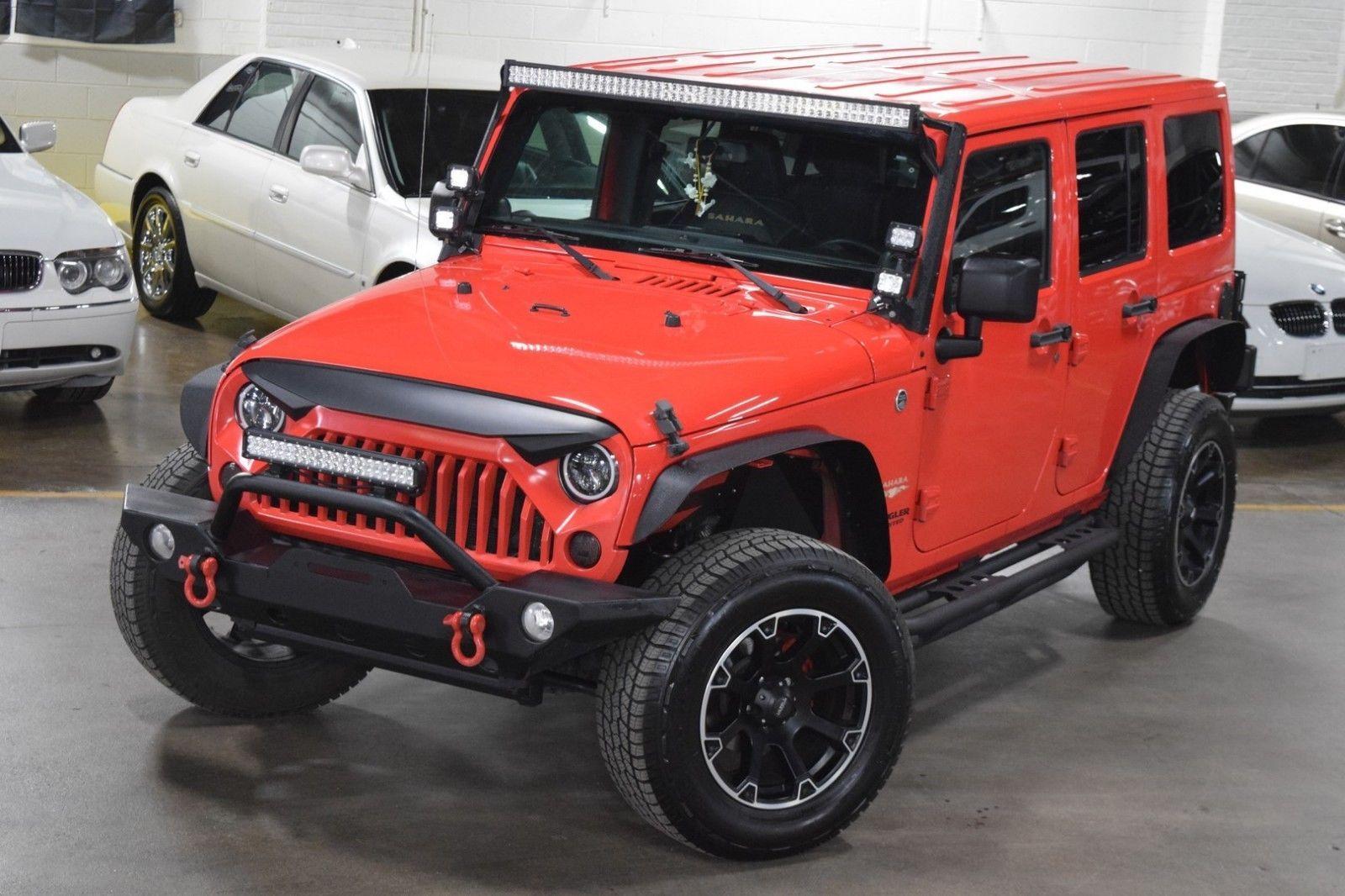 eBay 2013 Jeep Wrangler 4dr Sport Unlimited 2013 JEEP JK