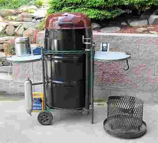 Picture of Ultimate Ugly Drum Smoker