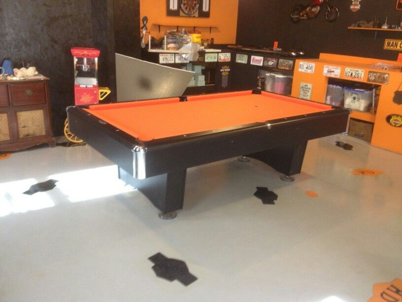 Pool Table Makeover