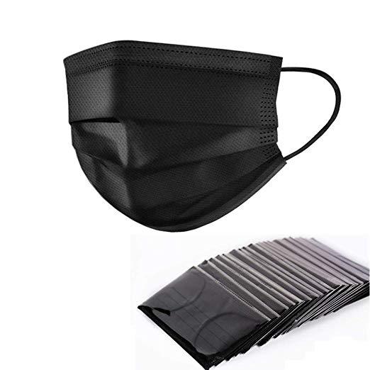 Yamde 50 Pcs Disposable Earloop Face Masks