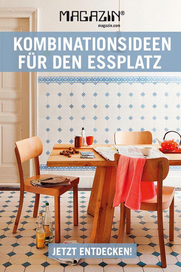 Perfekte Paare: Stühle und Tische für den Essplatz