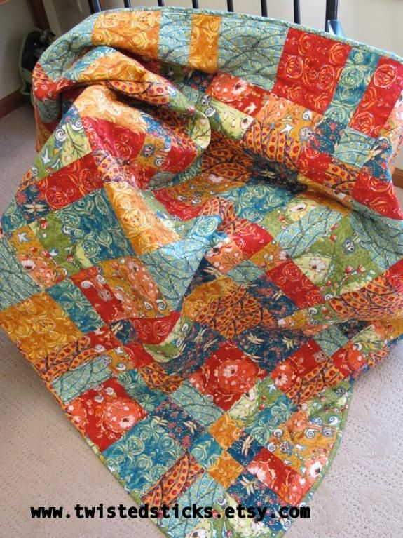 Looking for quilting project inspiration? Check out Fire & Ice by member twisted sticks. - via @Craftsy