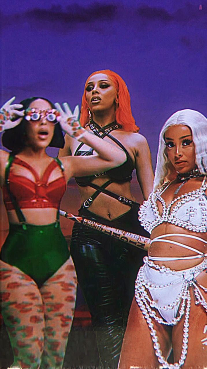 Doja Cat Iphone Wallpaper In 2020 Cat Aesthetic Female Rappers Aesthetic Pictures