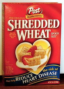 Shredded wheat - Wikipedia, the free encyclopedia   Serial