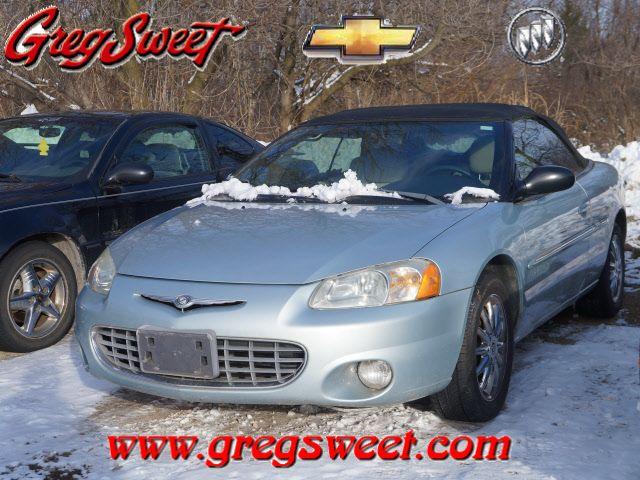 2001 Chrysler Sebring 2dr Convertible Limited Price 1 950