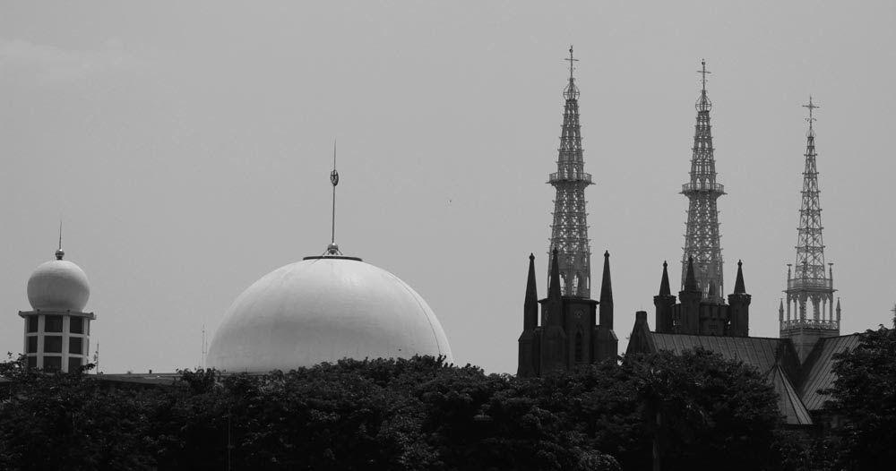 Siratkan Toleransi Beragama Ini 5 Masjid Dan Gereja Dibangun