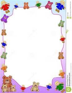 Teddy Bear Borders - Bing images | Teddy bear, Bear
