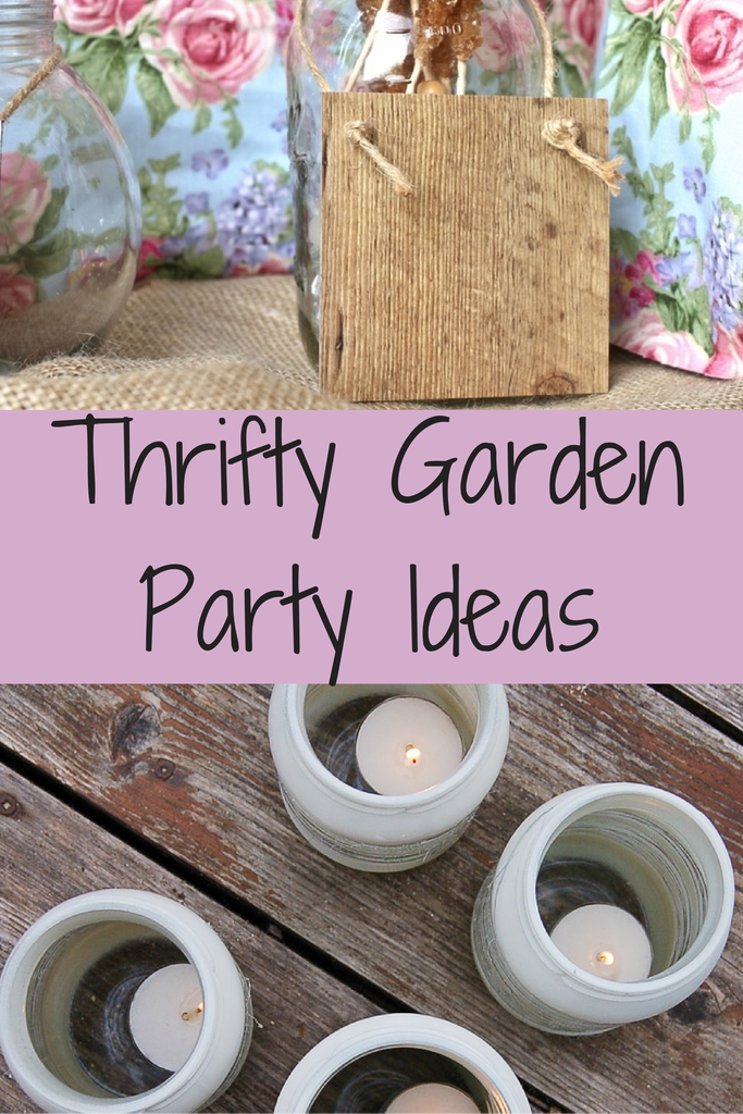 Thrifty Garden Party Ideas To be Crafts and Garden parties