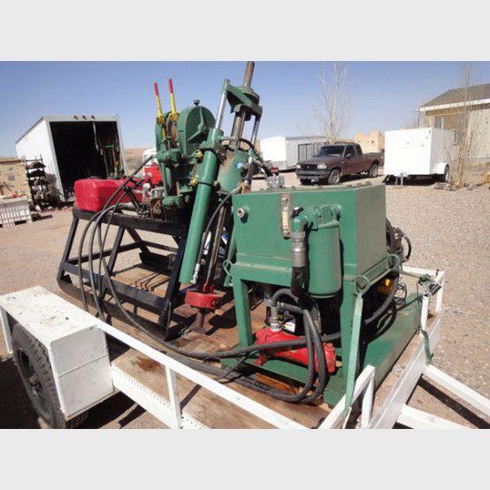 Longyear 24 Wolverine Combo Drill Hydraulic Cylinder Hydraulic Pump New Chrome