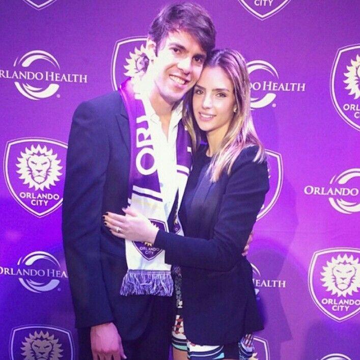 Lovely couple... KAKÁ & CAROL Forever!