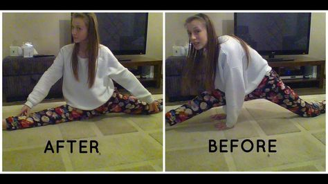 how to do the splits in one day  evie white  how to do