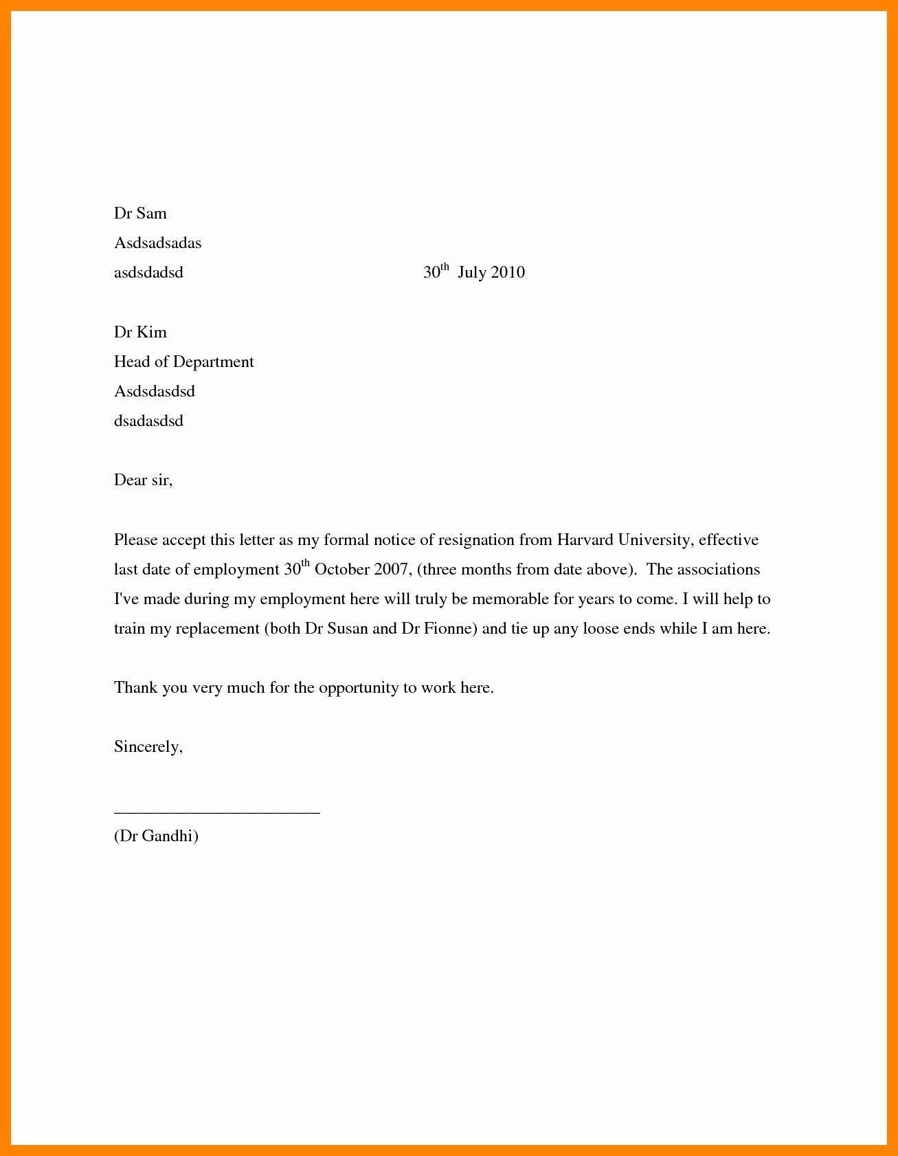 New Job Region Letter Job Letter Letter Writing Format