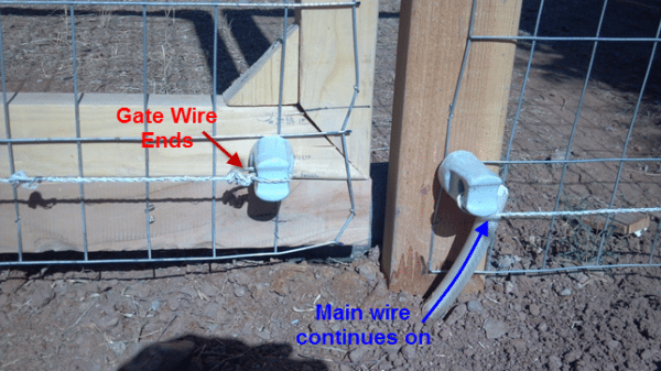 Diy Electric Fence Hot Wire For Animals Part 2 Barn