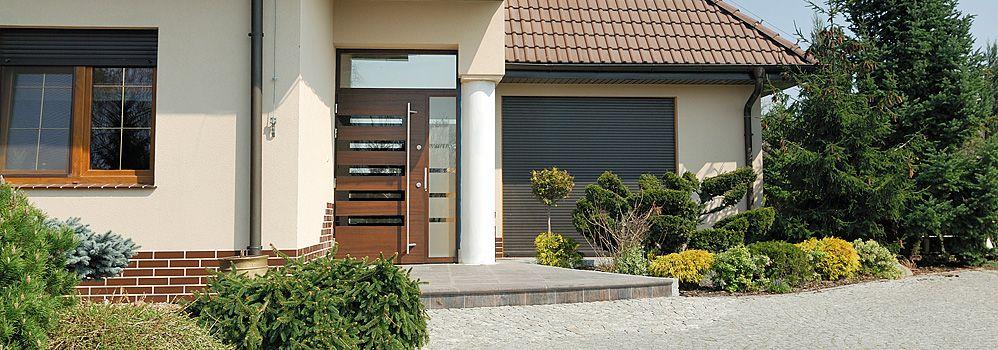 Drzwi zewnętrzne drewniane. Producent ART-TOM Wrocław