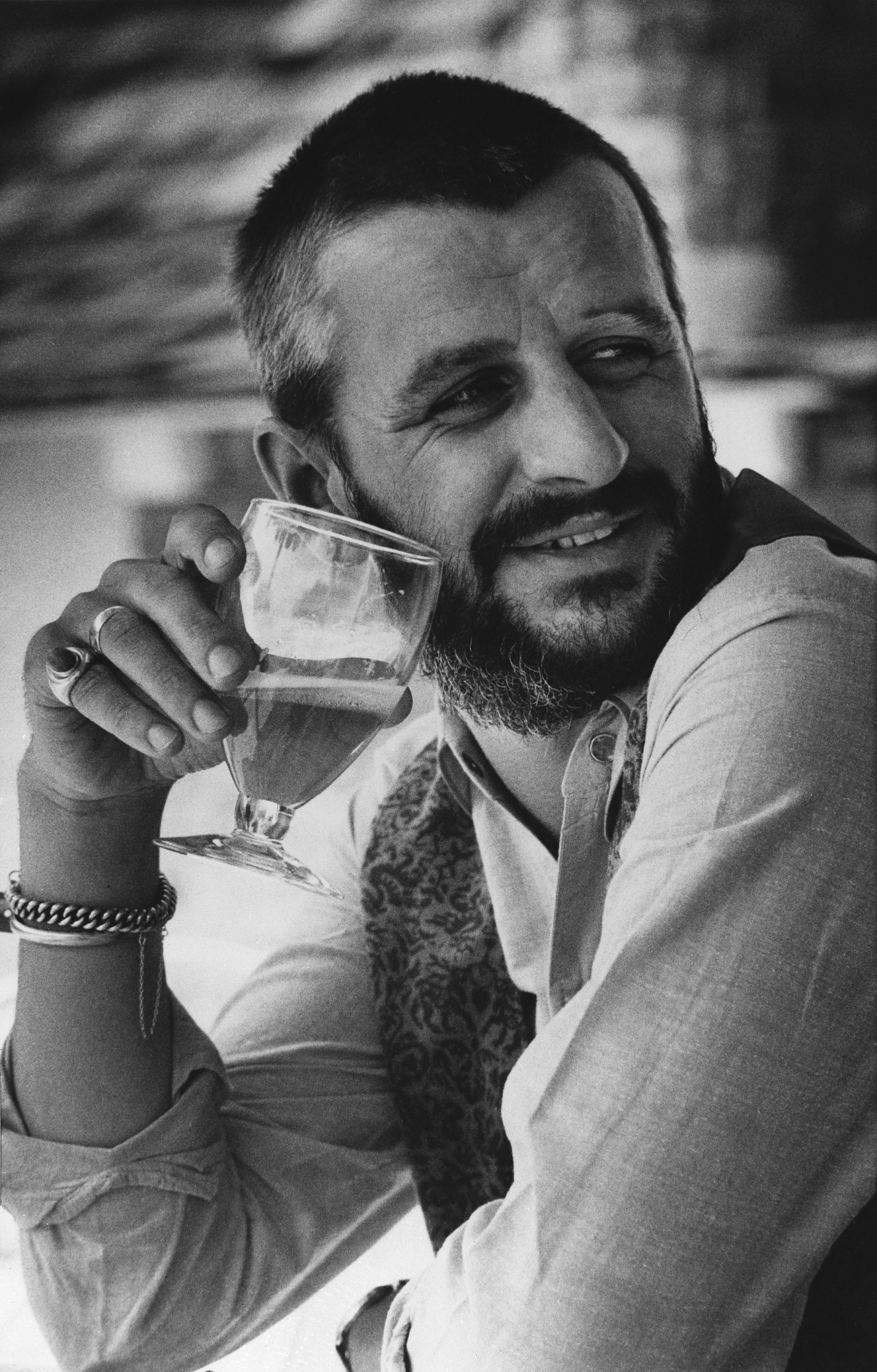 Ringo Starr Relaxes At His Home In Los Angeles, Oct