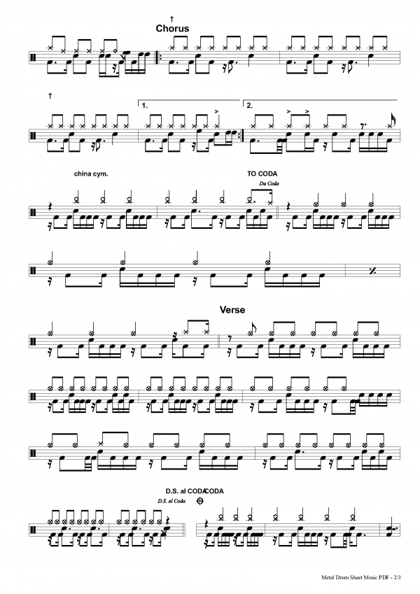 jailhouse rock drum music pdf