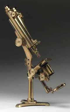 Compound microscope, London, England, 1863-1866