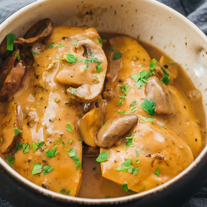 Instant Pot Chicken Marsala Insta Pot In 2019 Instant Pot Chicken Marsala One Pot Meals