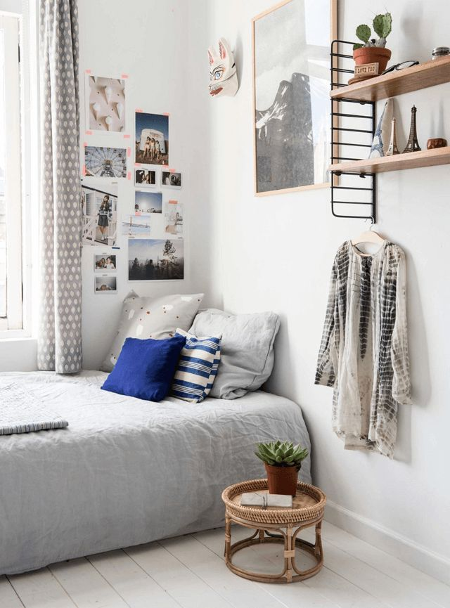 Genial Little Minimalist Room To Grow Up In