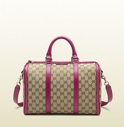 f6c73b5356 Gucci vintage web original GG canvas boston bag on shopstyle.com ...