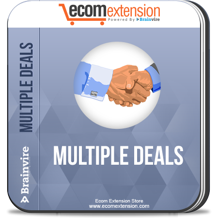 Your Online Store the Advantage of #Magento Multiple Deals #Extension