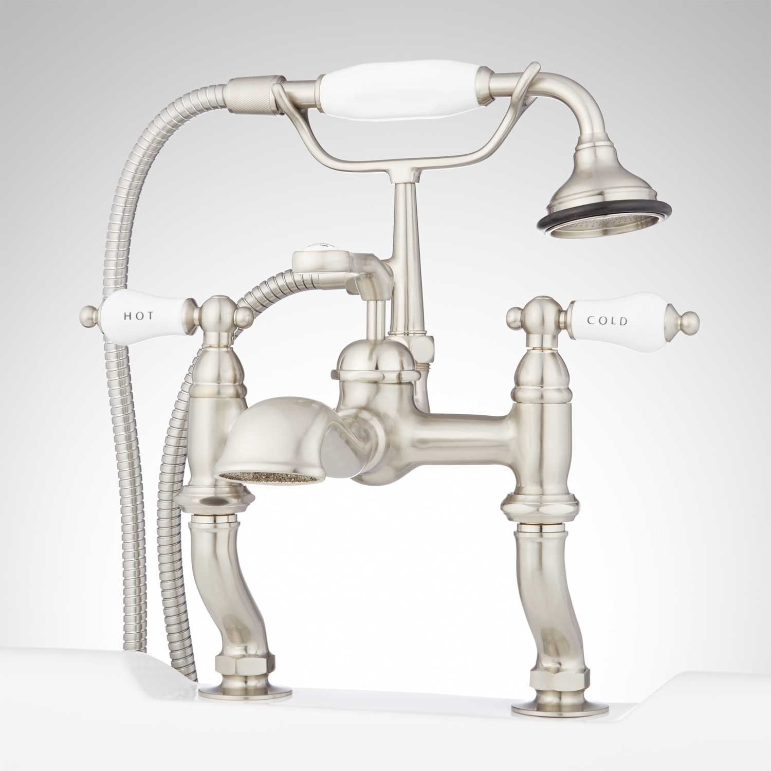 Glenwood Deck-Mount Tub Faucet with Variable Couplers | Bathroom ...