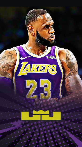 Lebron James Lakers Wallpaper For Mobile Phones Filnomenal Lebron James Lakers Lebron James Lebron James Images