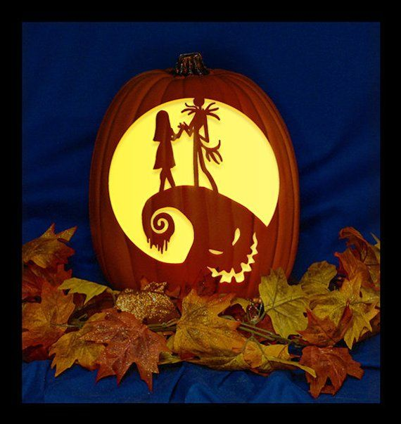 Pumpkin Carving Ideas Jack Nightmare Before Christmas Hylen