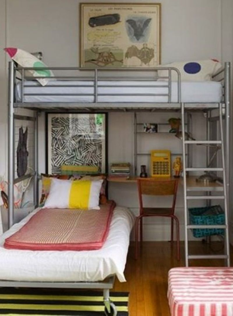 This Image Is About About Ikea Svarta Loft Bed And Titled Awesome