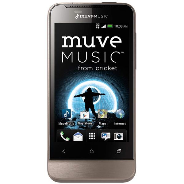 The Htc One V Phone With Muve Music At Cricket Wireless Is The Perfect Phone For A Music Lover 209 99 El Telefon Prepaid Phones Cell Phone Contract Phone