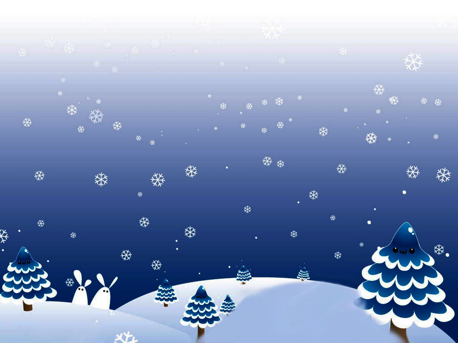 Winter Christmas Day Backgrounds For Powerpoint