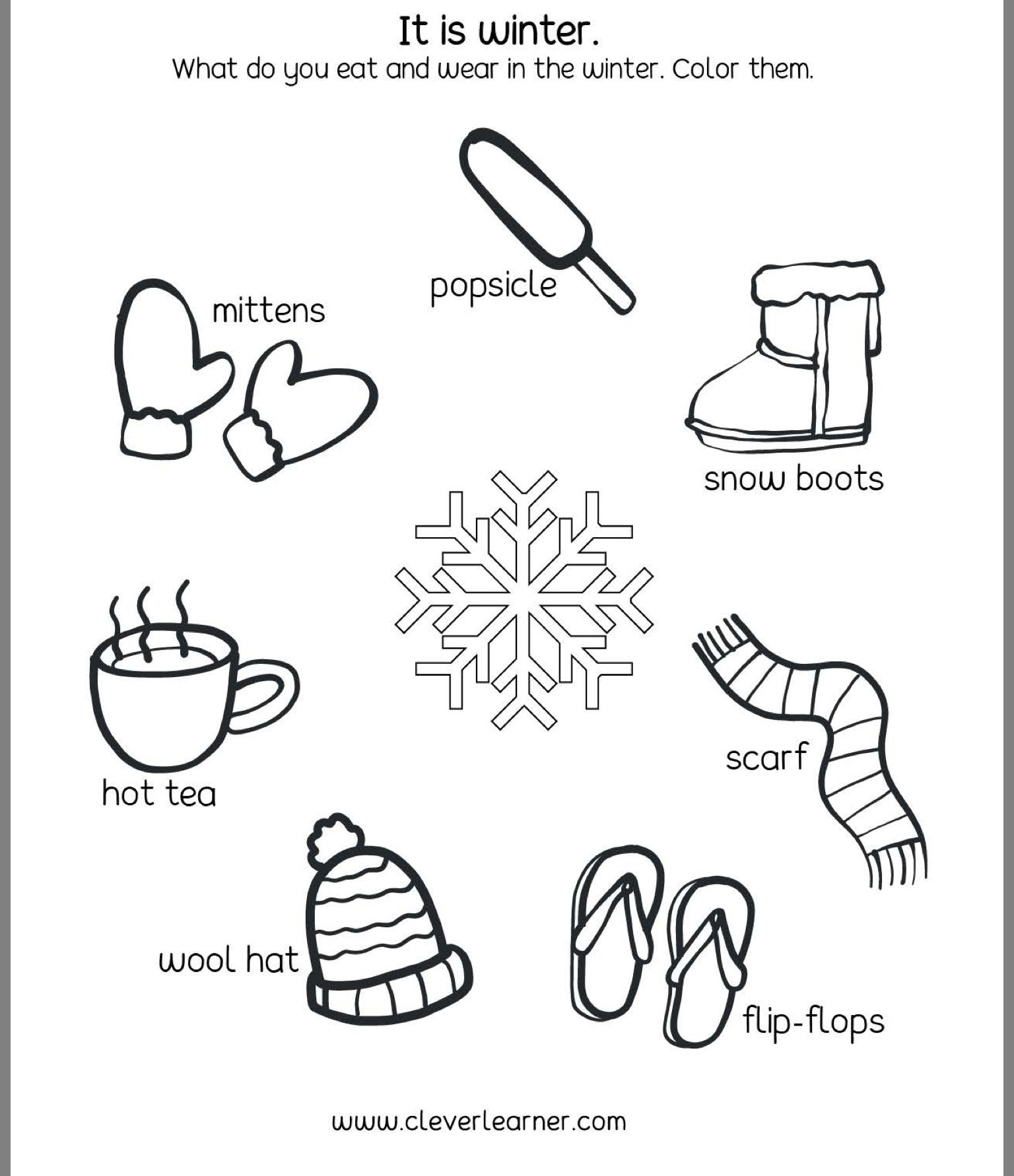 Seasons Worksheets Image By Bhagya Shekar On Evs