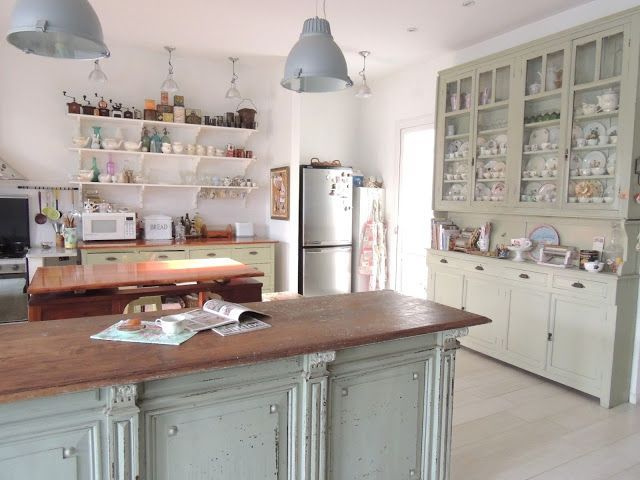 Vintage Farmhouse Style Kitchen Island Old Farmhouse Kitchen Kitchen Cabinets For Sale Home Decor Kitchen