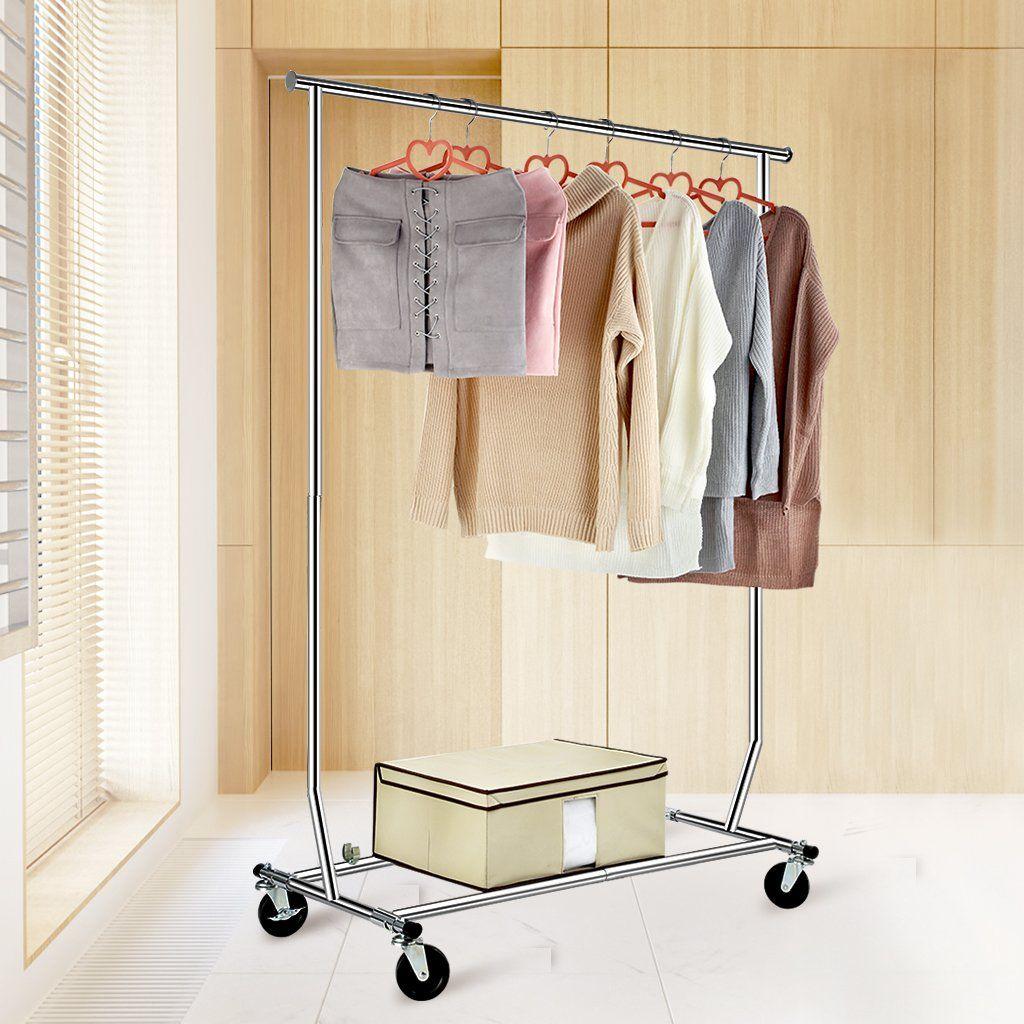 Langria Heavy Duty Garment Rack Commercial Grade Adjustable