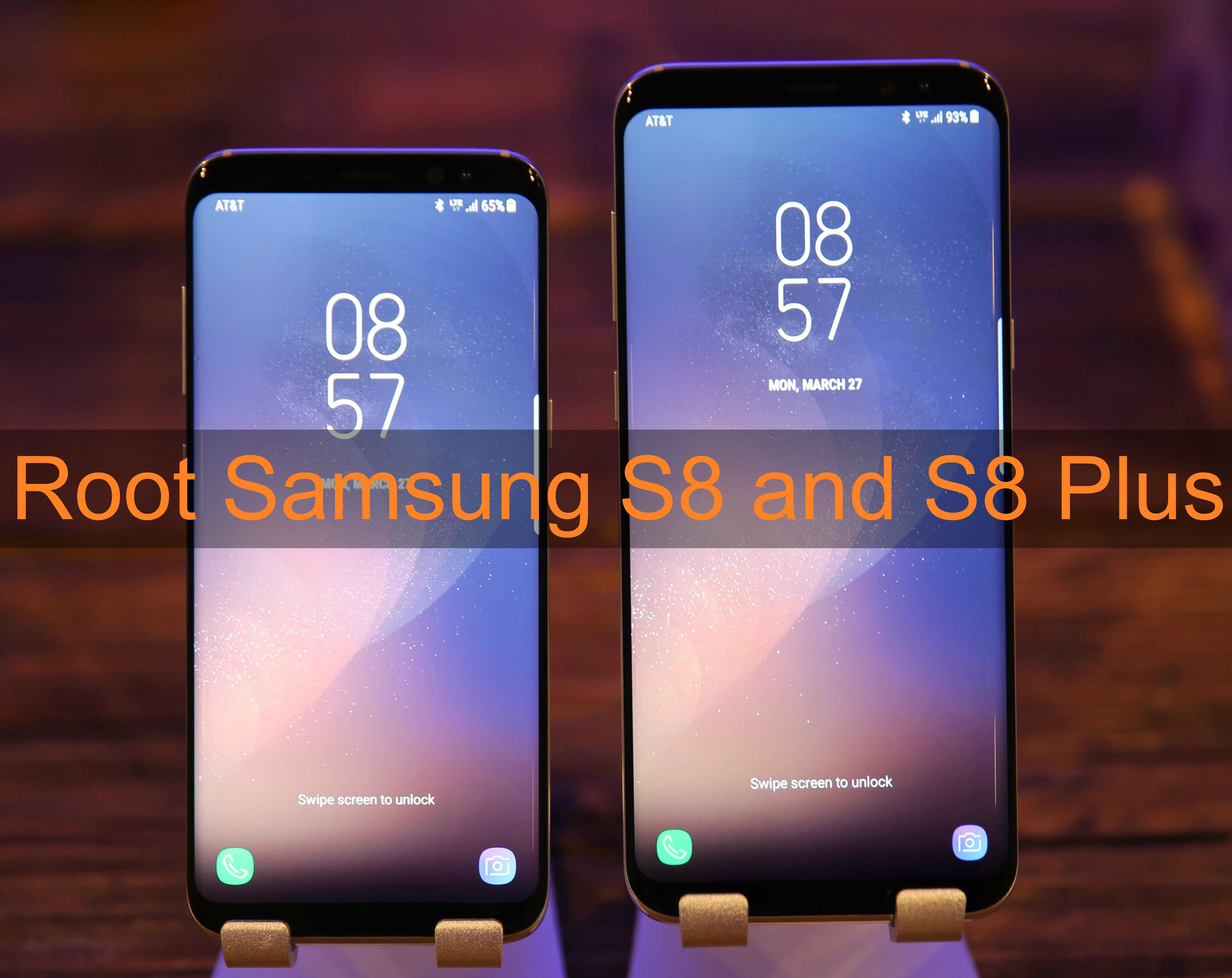 SM-G955U] How to Install TWRP and Root your Samsung S8 Plus