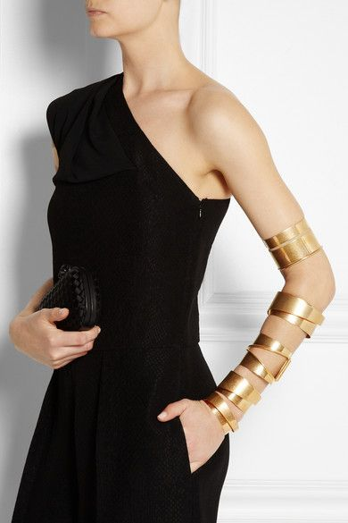 McQueen gold cuffs