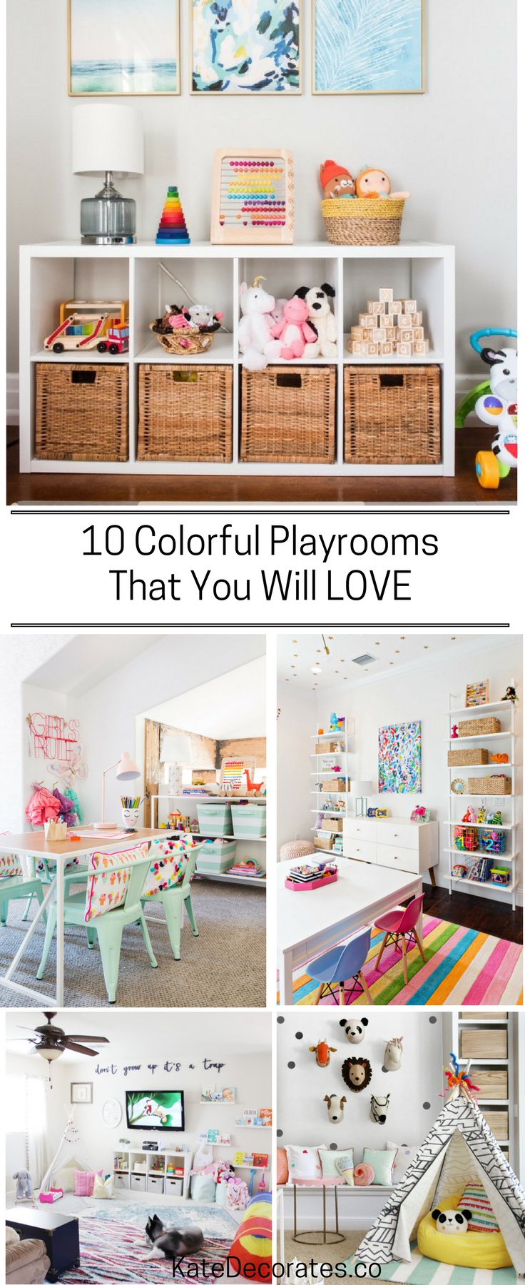 10 Amazing Kids Playroom Makeover Ideas You\'ll LOVE | Kinderzimmer
