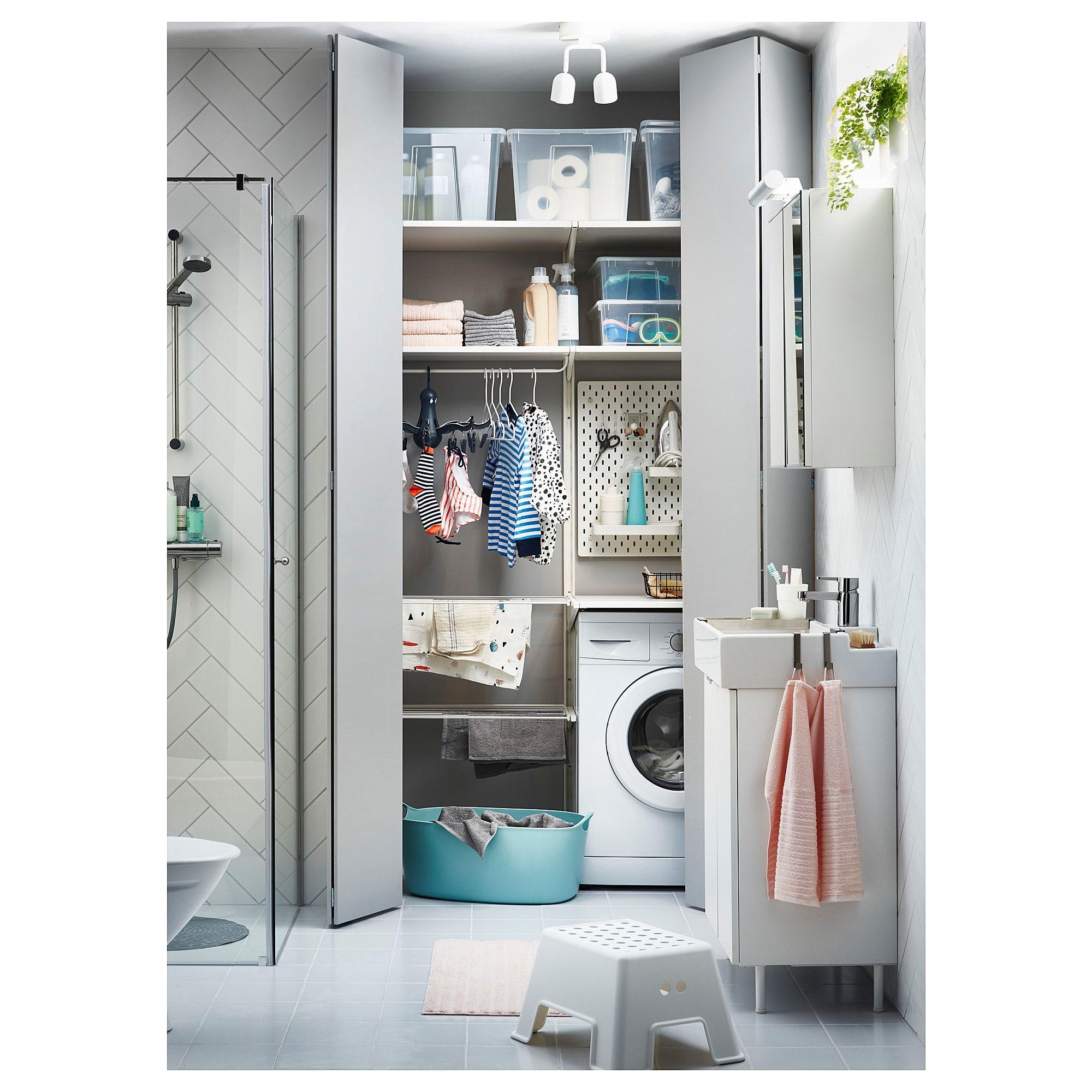 Algot Drying Rack White 23 5 8 60 Cm Avec Images Amenagement Buanderie Etendoir Linge Buanderie