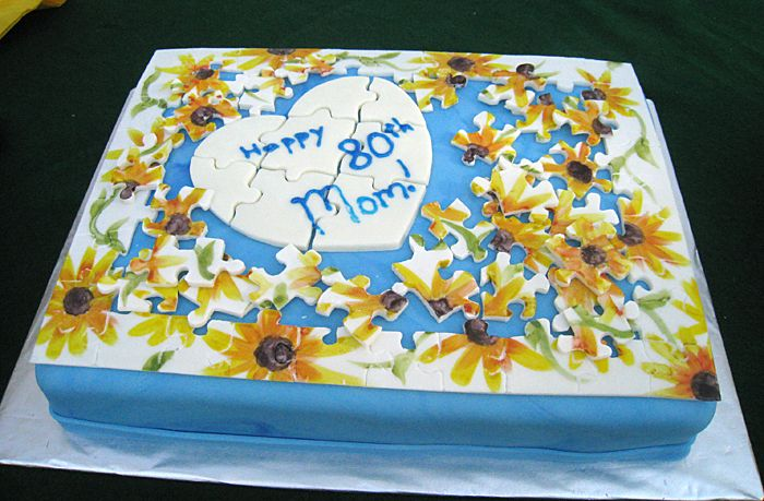 Jigsaw Puzzle Cake Creative Touch Cakes Pinterest ...