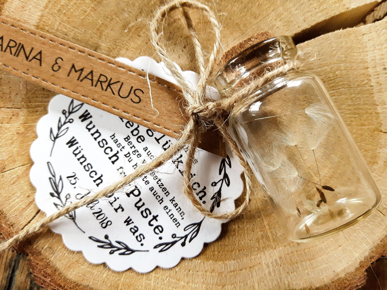 REGALO DE BODAS BODA Vintage Boho | Con nombre | Personalizada | Regalos para invitados | Semillas de flores | Regalo de bodas | Diente de león