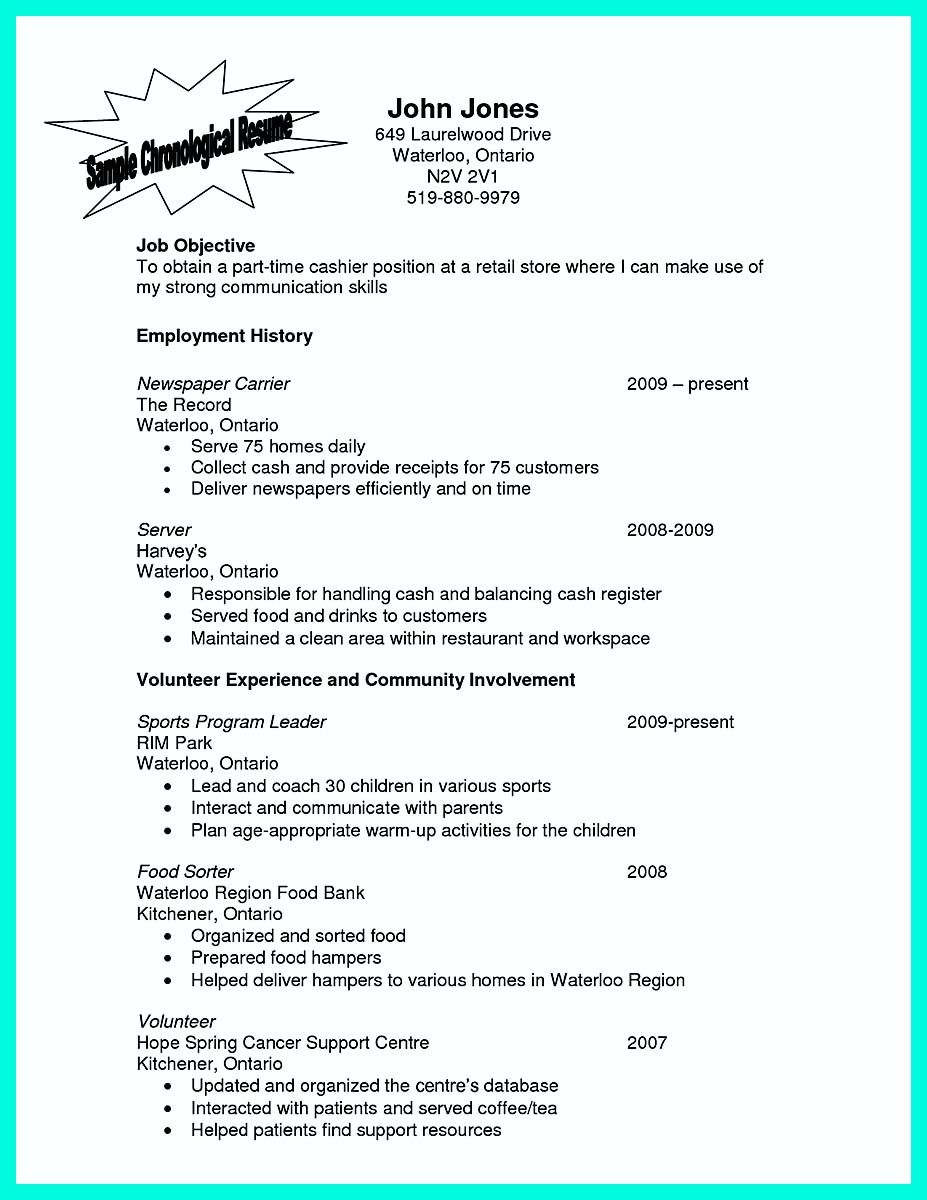 Server Responsibilities Resume | Cover Letter And Resume Template For A Server Great Server Resume