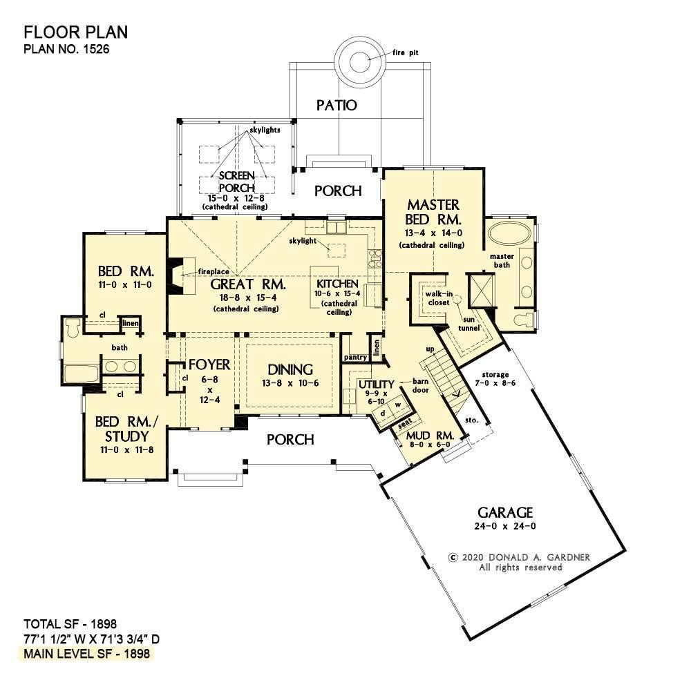 House Plans The Rodrick Home Plan 1526