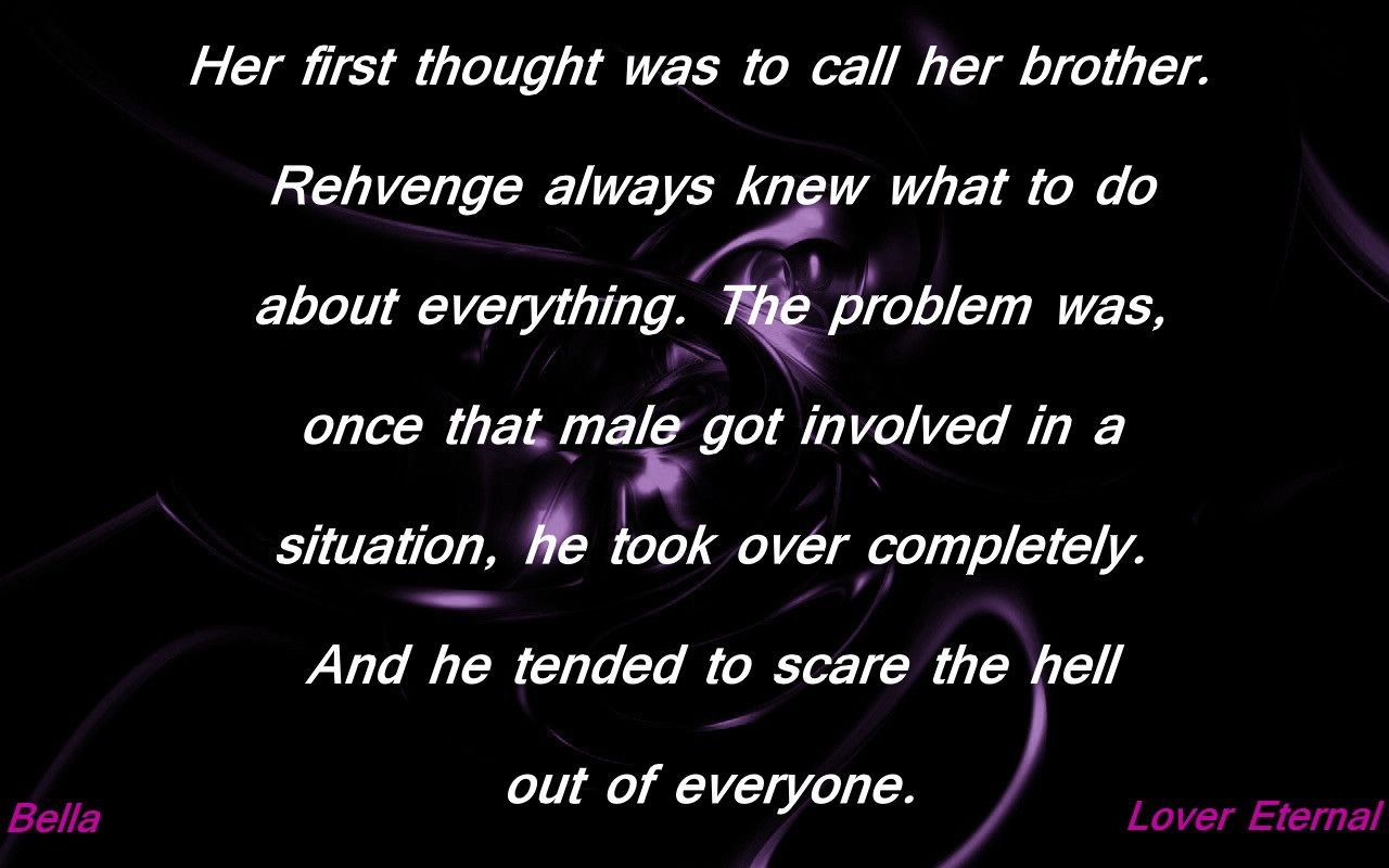 Bella Rehvenge Problem BDB Black Dagger Brotherhood