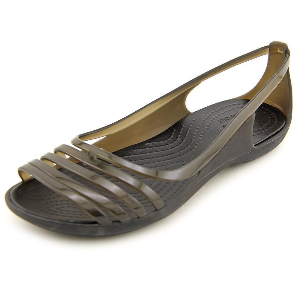 224b55c84651 Crocs Women s  Isabella Huarache Flat  Synthetic Casual Shoes