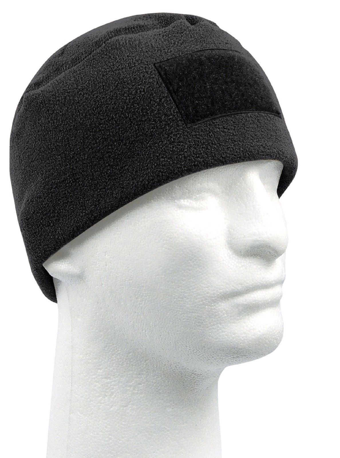 Winter Tactical Polar Fleece Watch Cap Ski Hat w  Front Patch Area Rothco  8760 34f6d50aa04