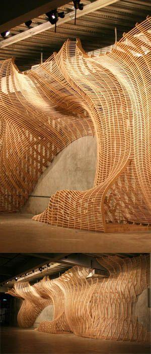Sci arc installation movement architectureparametric architectureparametric designinstallation