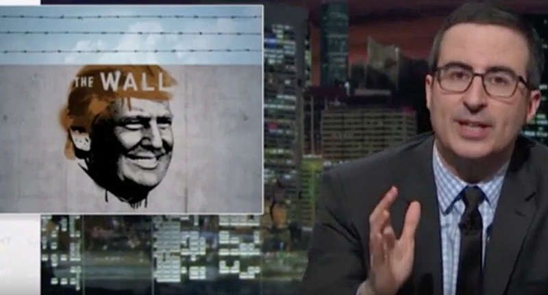 John Oliver Demolishes Donald Trump's Wall In 18 Minutes -              As we all know, Donald Trump wants to build a wall on the U.S.-Mexico border. And, while the idea seems absolutely ridiculous to most peo...
