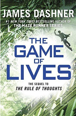 Cover Reveal: The Game of Lives (The Mortality Doctrine #3) by James Dashner  -On sale August 25th 2015 by Delacorte Press -Michael used to live to game, but the games he was playing have become all too real. Only weeks ago, sinking into the Sleep was fun. The VirtNet combined the most cutting-edge technology and the most sophisticated gaming for a full mind-body experience. And it was Michael's passion. But now every time Michael sinks, he risks his life.