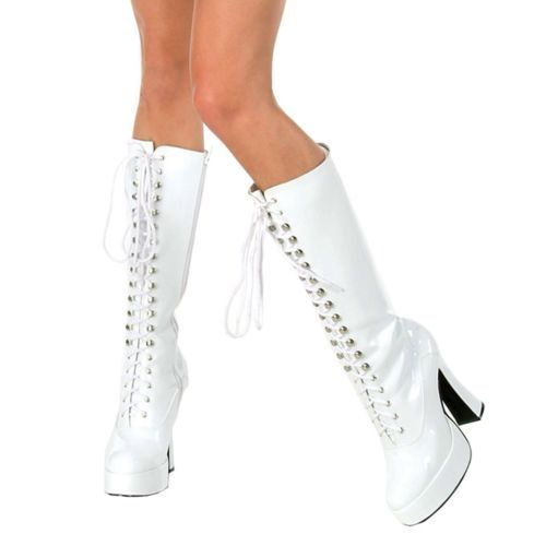Easy (White) Adult Boots size- 6, 7, 8, 9 and 10
